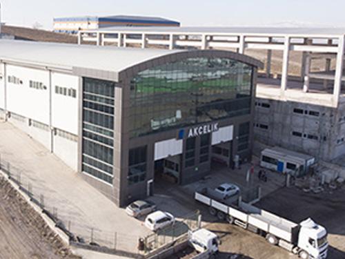 Geschäftsaufnahme des Distributionszentrums in Ankara
