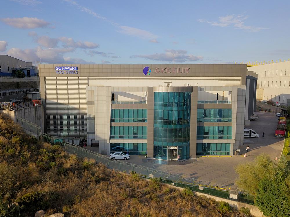 Geschäftsaufnahme des Distributionszentrums im Industriegebiet TOSB in Kocaeli