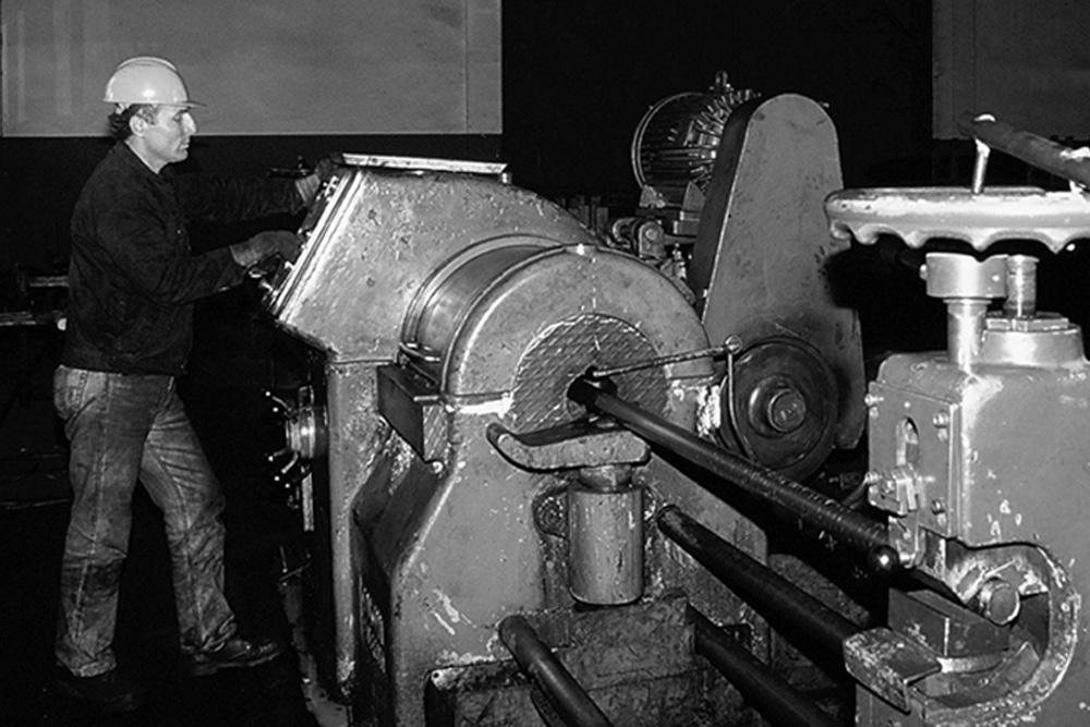 Erstes Blankstahlwerk in der Industriezone AOSB in İzmir, TR